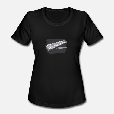 Mellow Music Xylophone Musical Instrument - Women's Moisture Wicking Performance T-Shirt