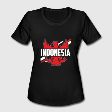 Garuda Pancasila Indonesia Flag Indonesian Asia Southeast Asia Gift - Women's Moisture Wicking Performance T-Shirt
