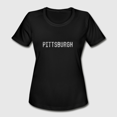 Pittsburgh Cool Vintage Pittsburgh Pennsylvania - Women's Moisture Wicking Performance T-Shirt