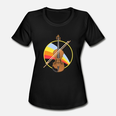 Cello Concert Cello - Women's Moisture Wicking Performance T-Shirt
