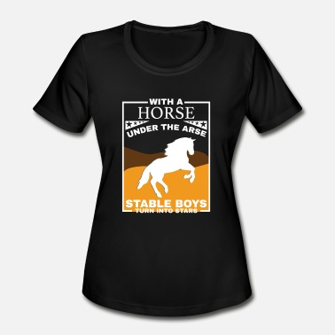 Funny Horse Horse Animal Funny Gift - Women's Moisture Wicking Performance T-Shirt