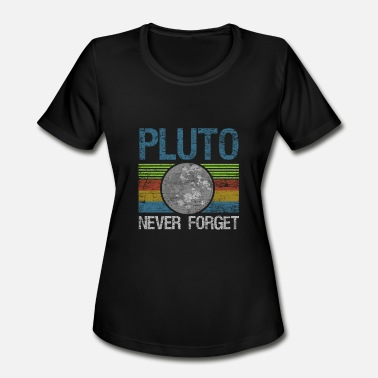 Styx Pluto Astronomy Astronaut Planet Galaxy Gift Space - Women's Moisture Wicking Performance T-Shirt