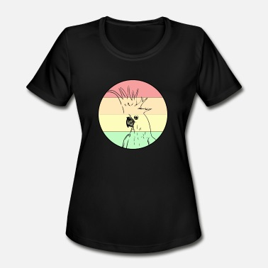 Cockatoo Love cockatoo - Women's Moisture Wicking Performance T-Shirt