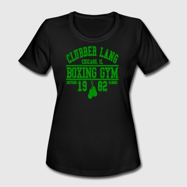 Box Gym CLUBBER LANG BOXING GYM - Women's Moisture Wicking Performance T-Shirt