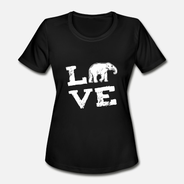 Africa Asia Elefant Africa Asia Love Gift - Women's Moisture Wicking Performance T-Shirt