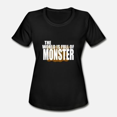 Villain Kids World Full of Monster - Women's Moisture Wicking Performance T-Shirt