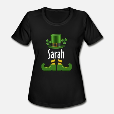 Sarah Sarah - Women's Moisture Wicking Performance T-Shirt