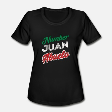Juan Regalo para Abuelo Mexican Grandpa Fathers Day - Women's Moisture Wicking Performance T-Shirt