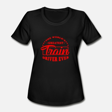 Railway Station Train driver - Women's Sport T-Shirt