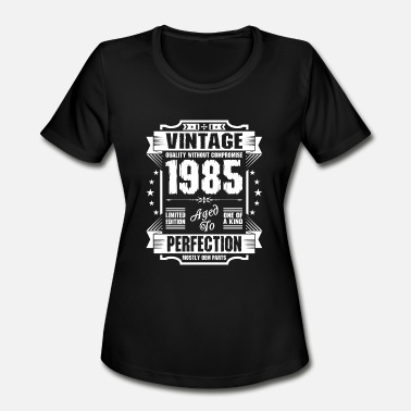 1985 September Vintage 1985 Perfection - Women's Moisture Wicking Performance T-Shirt