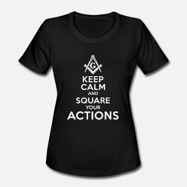 Esoteric Funny Masonic - The Masonic Store - Women's Moisture Wicking Performance T-Shirt