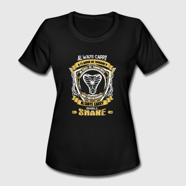 Snake - Always carry a flagon of whiskey t-shirt - Women's Moisture Wicking Performance T-Shirt