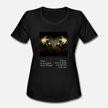 Philosophy Nietzsche Nietzsche - Women's Moisture Wicking Performance T-Shirt
