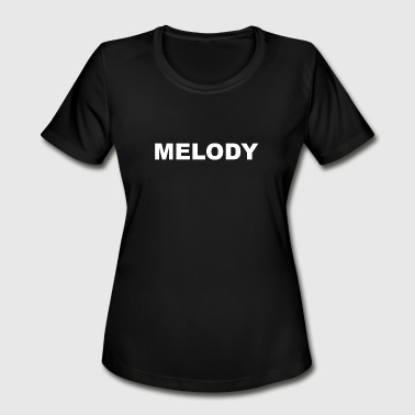 Melody MELODY - Women's Moisture Wicking Performance T-Shirt