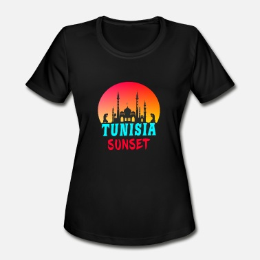 Sousse Tunisia / Gift Mosque Religion North Africa - Women's Moisture Wicking Performance T-Shirt