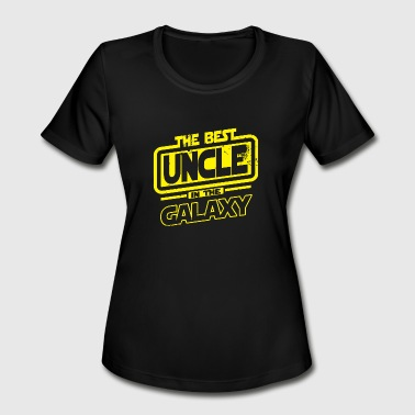 Uncle Ben Uncle - The Best Uncle In The Galaxy - Women's Moisture Wicking Performance T-Shirt