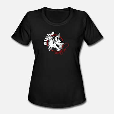 Alpha Male Humor Alpha Male - Women's Moisture Wicking Performance T-Shirt