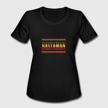 reggae rastaman - Women's Moisture Wicking Performance T-Shirt