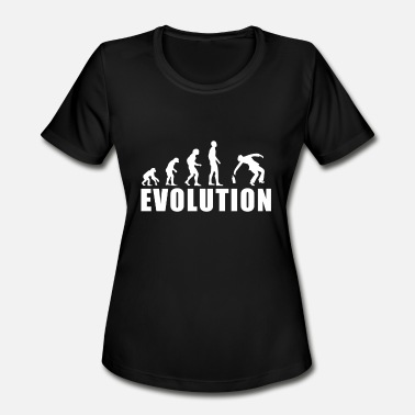 Beer And Evolution Of Man EVOLUTION DRUNK / FOR WOMAN, MAN AND KIDS - Women's Moisture Wicking Performance T-Shirt