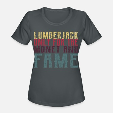 Chain Lumberjack, Forest, Chain Saw - Women's Sport T-Shirt