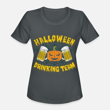 Drinking Contest Halloween Drinking Team Funny Drink Beer Partner - Women's Sport T-Shirt