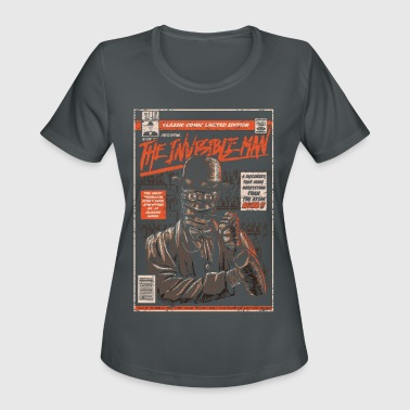 Comic-book The Invisible Man Comic Book - Women's Moisture Wicking Performance T-Shirt