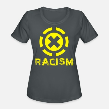 Anti Right Stop Racism - Anti Racism Against Racism Gift - Women's Sport T-Shirt