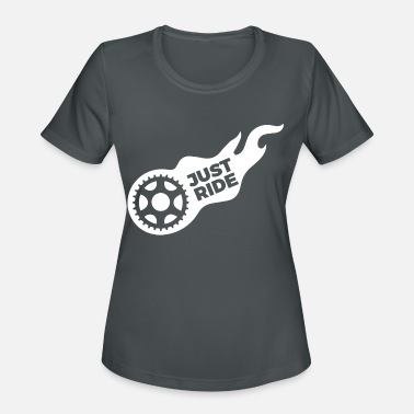 Bestseller Just Ride Bicycle Mountainbike Gift - Women's Sport T-Shirt
