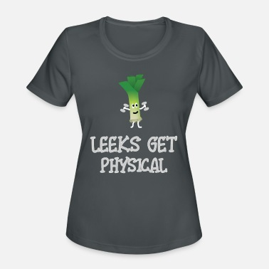 Leek Motivated fitness leek - Women's Sport T-Shirt
