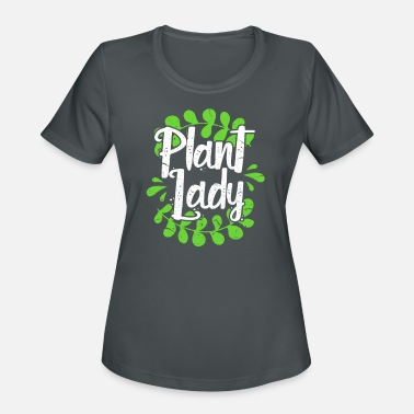 Diet Vegan Plant Lady - Women's Sport T-Shirt