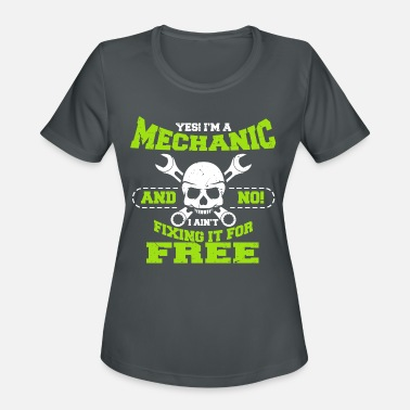 Mechanic profession spanner screws engineer - Women's Sport T-Shirt