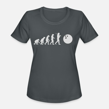 Bowling Ball Bowling Evolution Bowling Ball Bowling Ball ball - Women's Sport T-Shirt