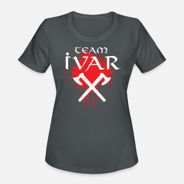 Ivar Team Ivar series fan axe nordic lagertha odin tv - Women's Sport T-Shirt
