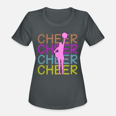 Cheering Cheerleading - Cheer Cheer Cheer - Women's Sport T-Shirt