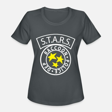 STARS RACCOON City Police inspired by Resident Evi - Women's Sport T-Shirt