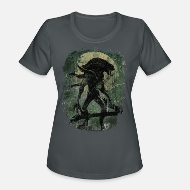 Urban Backwoods Xenomorph Alien Women Femme T-Shirt