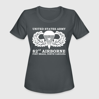 Northamptonshire Army 82nd Airborne Fort Bragg North Carolina - Women's Moisture Wicking Performance T-Shirt