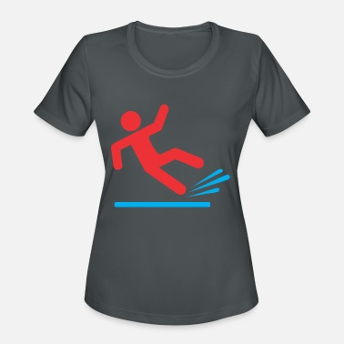 Slip people slip - Women's Sport T-Shirt
