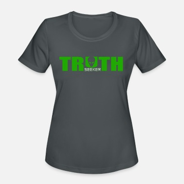 Truth Truth Seeker-Green - Women's Sport T-Shirt