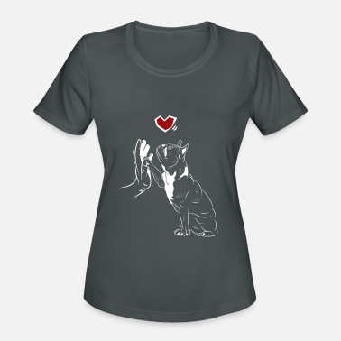 Bulldog French Bulldog Dog Love Dog Lovers - Women's Sport T-Shirt