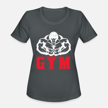 Fitness Bodybuilding gym workout gift sport - Women's Sport T-Shirt
