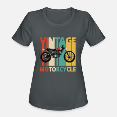 Vintage Motorcycle Gifts for the wild. Dirt Bike - Women's Sport T-Shirt