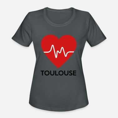 Toulouse Heart Toulouse - Women's Sport T-Shirt