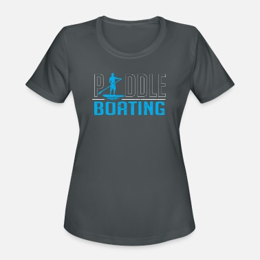 Paddle Boat Paddle boating - Women's Sport T-Shirt