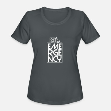 Emergency Call Rescue Shirt - Emergency call - Emergency - Women's Sport T-Shirt