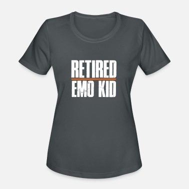 Emo Retired Emo Kid T Shirt Funny Emo Shirts - Women's Sport T-Shirt