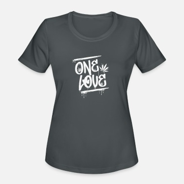 One Love - Reggae-Tastic - Just Good Vibes - Women's Sport T-Shirt