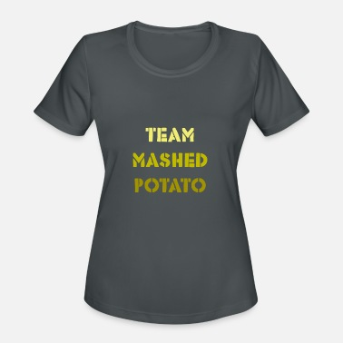 Mashed Potatoes Team Mashed Potato - Women's Sport T-Shirt