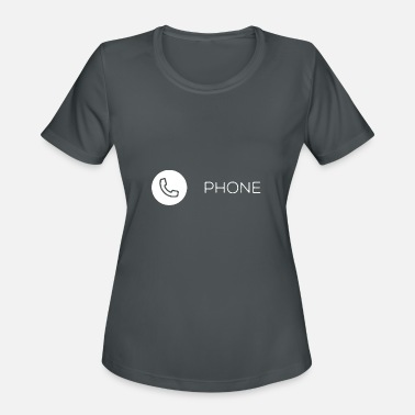 Phone Number Phone Icon - Women's Sport T-Shirt