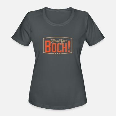 Bochy Forever Thank you boch logo - Women's Sport T-Shirt
